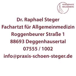 Dr Raphael Steger Deggenhausertal